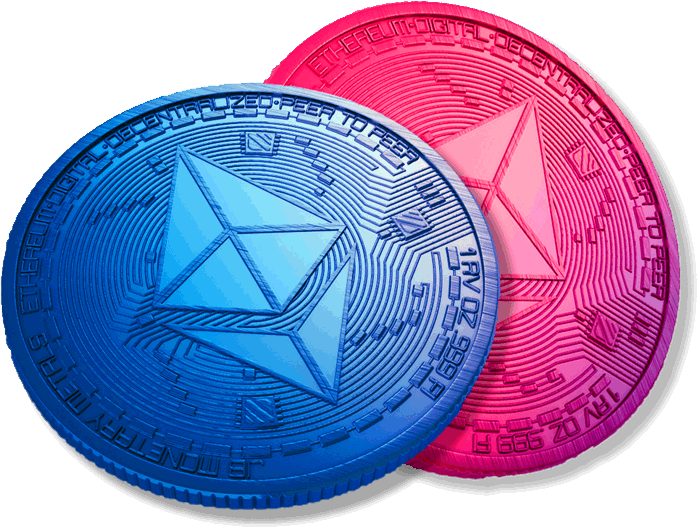 Image of Etherium coins